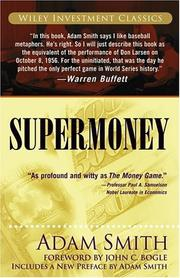 Cover of: Supermoney