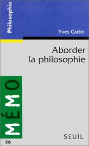Cover of: Aborder la philosophie
