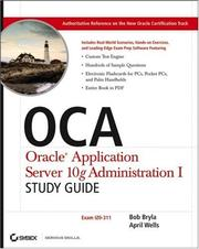 Cover of: OCA | Robert J Bryla