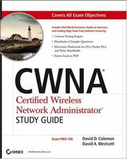 Cover of: CWNA Certified Wireless Network Administrator study guide by