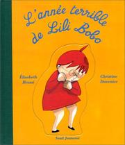 Cover of: L'année terrible de Lili Bobo