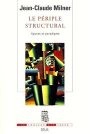 Cover of: Le Périple structural