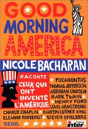 Cover of: Good morning America