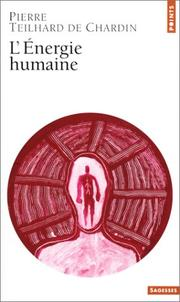 Cover of: L'e ́nergie humaine