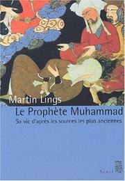 Cover of: Le prophète Muhammad