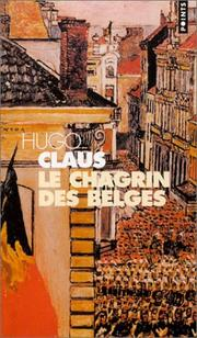 Cover of: Le Chagrin des Belges