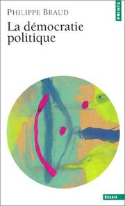 Cover of: Science politique, tome 1
