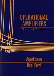 Cover of: Operational amplifiers | Arpad Barna
