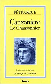 Cover of: Canzoniere =