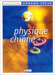 Cover of: Physique, chimie