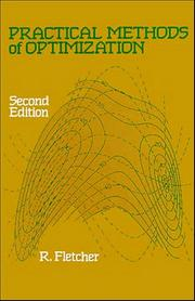 Cover of: Practical methods of optimization | R. Fletcher
