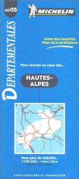 Cover of: Michelin France Hautes-Alpes #4005 (Michelin Departmental Maps) |