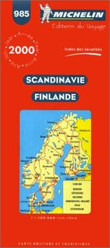 Cover of: Michelin Scandinavia & Finland Map No. 985 | Michelin Staff