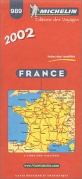 Cover of: Michelin France Map No. 989, 30e |