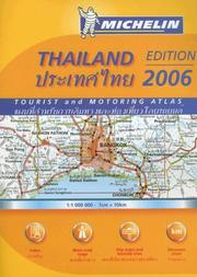 Cover of: Michelin Atlas Thailand | Michelin Travel Publications