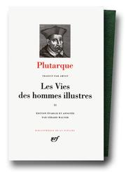 Cover of: Plutarque