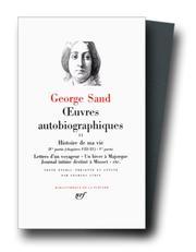 Cover of: George Sand