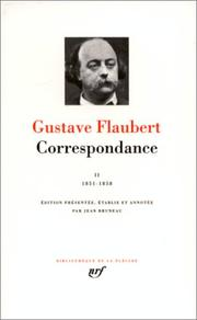 Cover of: Flaubert