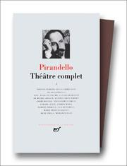 Cover of: Pirandello