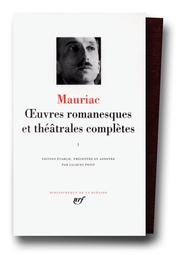 Cover of: Mauriac