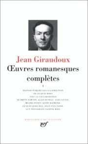 Cover of: Giraudoux