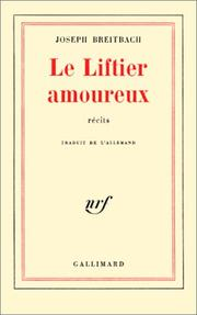 Cover of: Le Liftier amoureux