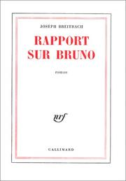 Cover of: Rapport sur Bruno