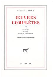 Cover of: Oeuvres complètes, tome 6
