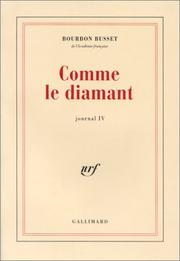 Cover of: Comme le diamant