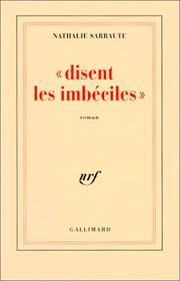 Cover of: Disent les imbéciles