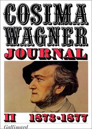 Cover of: Journal, tome 2