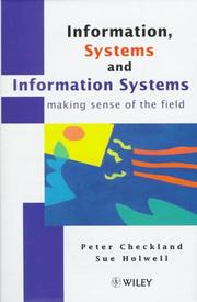 Cover of: Information, systems, and information systems