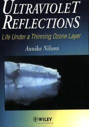 Cover of: Ultraviolet reflections