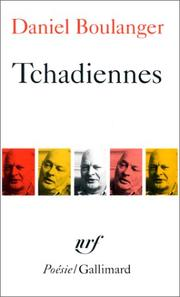 Cover of: Tchadiennes