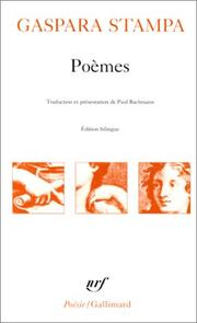 Cover of: Poèmes
