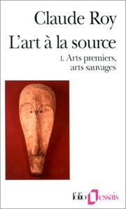 Cover of: L'Art à la source