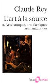Cover of: L'Art à la source, tome 2