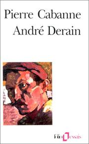 Cover of: André Derain