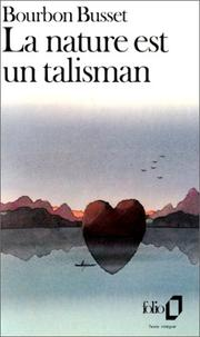 Cover of: La Nature est un talisman