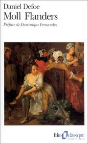 Cover of: Moll Flanders by Daniel Defoe