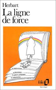 Cover of: La ligne de force