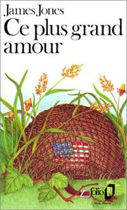 Cover of: Ce Plus Grand Amour