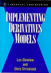 Cover of: Implementing derivatives models