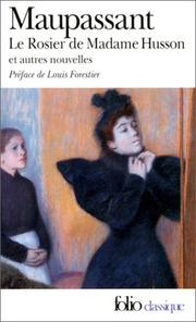 Cover of: Rosier de Madame Husson, Le