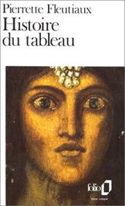 Cover of: Histoire du tableau