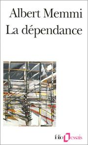 Cover of: La dépendance