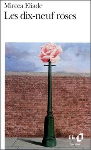 Cover of: Les dix-neuf roses
