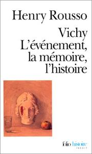 Cover of: Vichy