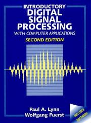 Cover of: Introductory digital signal processing with computer applications