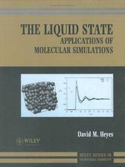 Cover of: The liquid state